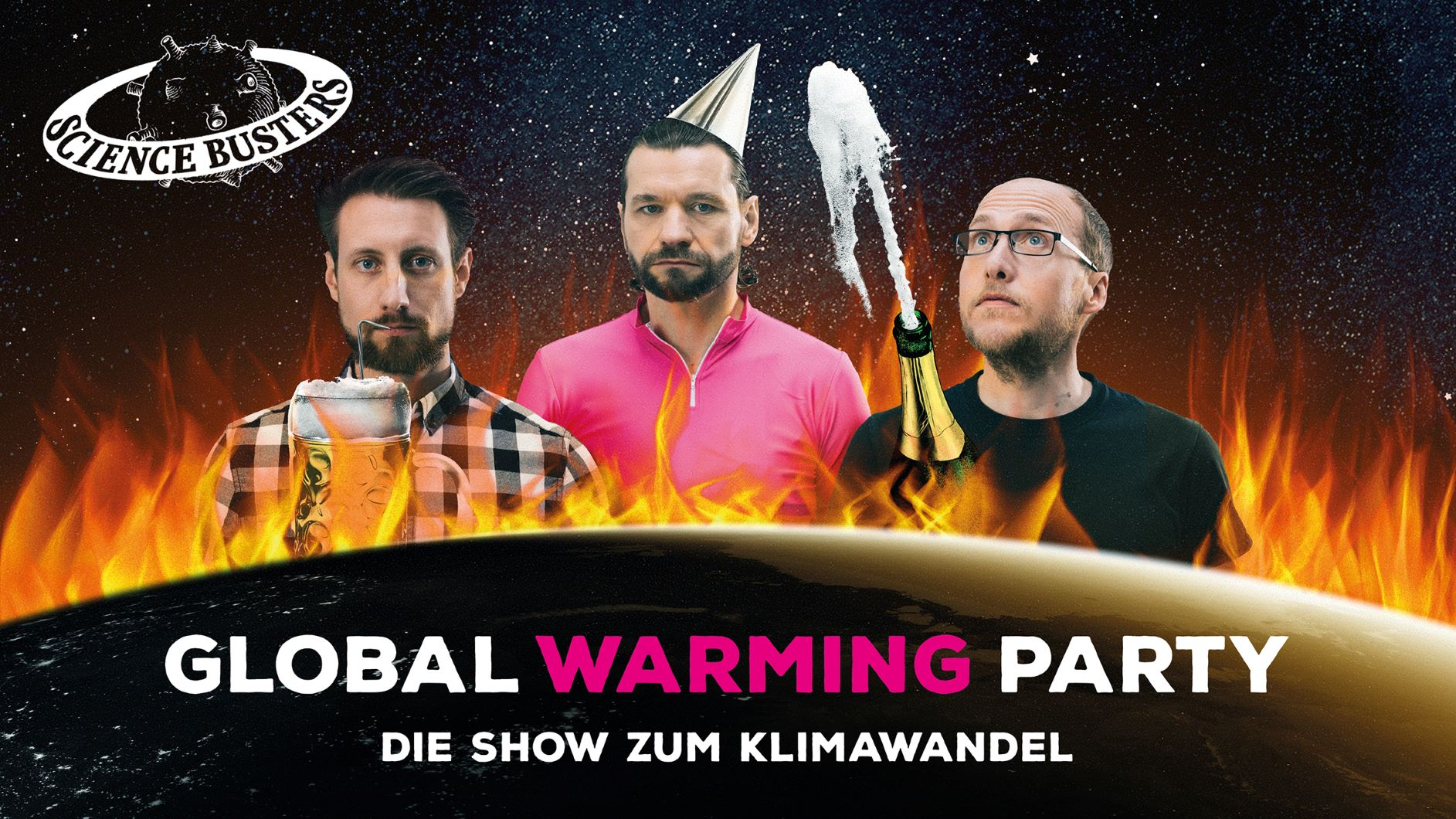 Sciene Busters - Global Warming Party